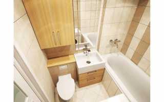 Туалет в пятиэтажке дизайн