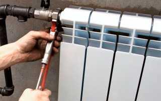 Установить биметаллические радиаторы отопления в квартире