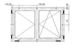Максимальная ширина створки пластикового окна ГОСТ