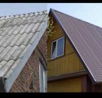 Что лучше шифер или профнастил на крышу