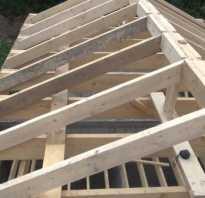 Соединение двух крыш разных уровней