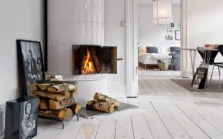 Печь камин фото в бревенчатый дом