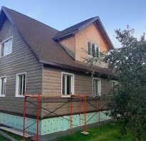Облицовка фасада дома сайдингом фото