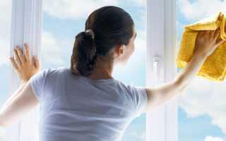 Как ухаживать за окнами ПВХ