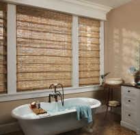 Бамбуковые ролеты на окна