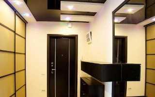 Чем отделать потолок в прихожей