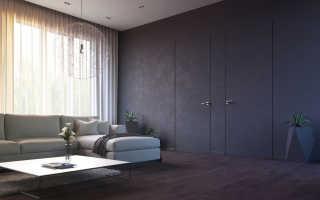 Скрытые двери в комнате