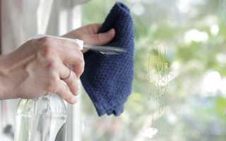Можно ли мыть пластиковые окна нашатырным спиртом