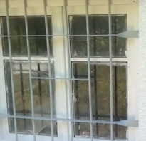 Можно ли на окнах устанавливать решетки