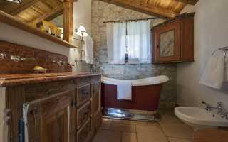 Ванная комната шале