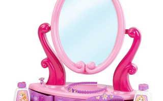 Что такое туалетный столик для маленьких девочек