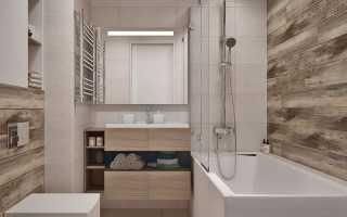 Ванная панелями фото