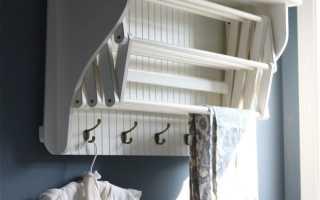 Вешалки для белья на балкон фото