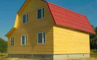 Конструкция мансардной крыши деревянного дома