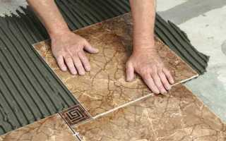 Плитка на пол в коридор керамогранит
