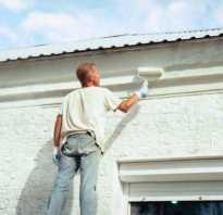Расход фасадной краски по бетону