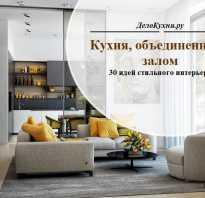 Объединить кухню и зал в панельном доме