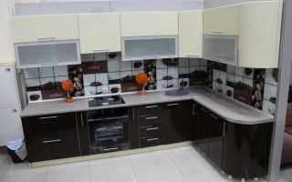 Кухня верхние шкафы размеры