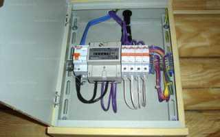 Монтаж электрощитка в частном доме своими руками