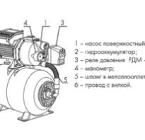 Насос джилекс электрическая схема подключения