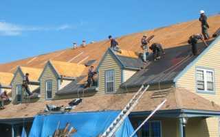 Строим крышу дома своими руками пошагово