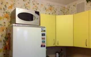 Можно ли ставить микроволновую печь на холодильник