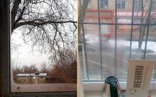 Должны ли запотевать пластиковые окна зимой