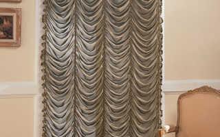 Как пошить французские шторы самостоятельно?