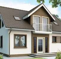Фасады дачных домов с мансардой фото