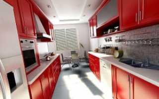 Кухня вагон дизайн