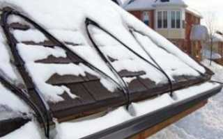 Противообледенительная система для крыши