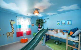 Люстры в детскую комнату для подростка фото