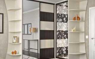 Угловой шкаф в зал фото дизайн
