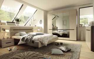 Выбор цвета стен в спальне