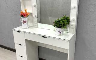 Как называется туалетный столик с зеркалом