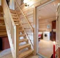 Деревянные лестницы на мансардный этаж