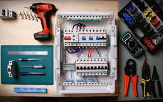 Монтаж электрощитка в частном доме