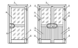 Пластиковая входная дверь устройство