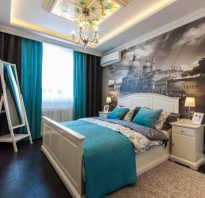 Дизайн спальни 15 м2