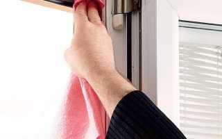 Техобслуживание пластиковых окон своими руками