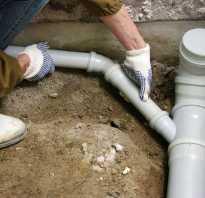 Схема бытовой канализации