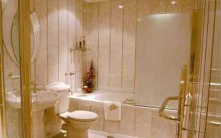 Сайдинг в туалете